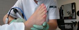 Reumatisch voet pedicure