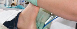 Risico voet pedicure